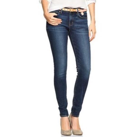7935c9e8e09 GAP Denim -  Gap  legging jean dark wash